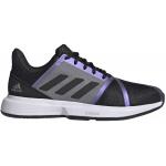 Adidas CourtJam Bounce Mens Tennis Shoe - Core Black/Core Black/Grey Two Adidas CourtJam Bounce Mens Tennis Shoe - Core Black/Core Black/Grey Two