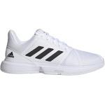 Adidas CourtJam Bounce Mens Tennis Shoe - FTWR White/Core Black/Silver Met. Adidas CourtJam Bounce Mens Tennis Shoe - FTWR White/Core Black/Silver Met.