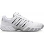K-Swiss Bigshot Light 4 Mens Tennis Shoe - WHITE/HIGHRISE/BLACK K-Swiss Bigshot Light 4 Mens Tennis Shoe - WHITE/HIGHRISE/BLACK