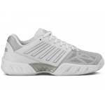 K-SWISS Bigshot Light 3 Women's Tennis Shoe - WHITE/SILVER K-SWISS Bigshot Light 3 Women's Tennis Shoe - WHITE/SILVER
