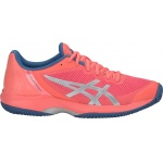 Asics GEL-Court Speed Women's Tennis Shoe - Papaya/Silver Asics GEL-Court Speed Women's Tennis Shoe - Papaya/Silver