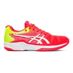 ASICS GEL-Solution Speed FF Women's Tennis Shoe - Laser Pink/White ASICS GEL-Solution Speed FF Women's Tennis Shoe - Laser Pink/White