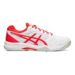 ASICS GEL-Dedicate 6 Women's Tennis Shoe -WHITE/LASER PINK - SEP 19 ASICS GEL-Dedicate 6 Women's Tennis Shoe -WHITE/LASER PINK - SEP 19