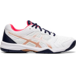 ASICS GEL-Dedicate 6 Womens Tennis Shoe - WHITE/WHITE ASICS GEL-Dedicate 6 Womens Tennis Shoe - WHITE/WHITE