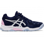 ASICS GEL-Resolution 8 GS Girls Tennis Shoe - Peacoat/Cotton Candy ASICS GEL-Resolution 8 GS Girls Tennis Shoe - Peacoat/Cotton Candy