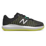 New Balance KC696v4 WIDE Boys Tennis Shoe - Black/Sulphur Yellow/Neon Emerald New Balance KC696v4 WIDE Boys Tennis Shoe - Black/Sulphur Yellow/Neon Emerald
