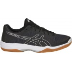 ASICS GEL-Tactic Men's Indoor Court Shoe - Black/Silver - JAN 19 ASICS GEL-Tactic Men's Indoor Court Shoe - Black/Silver - JAN 19