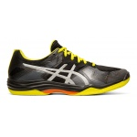 ASICS GEL-Tactic 2 Men's Indoor Court Shoe - BLACK/SILVER ASICS GEL-Tactic 2 Men's Indoor Court Shoe - BLACK/SILVER