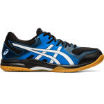 ASICS GEL-Rocket 9 Mens Indoor Court Shoe - BLACK/DIRECTOIRE BLUE - FEB 2020 ASICS GEL-Rocket 9 Mens Indoor Court Shoe - BLACK/DIRECTOIRE BLUE - FEB 2020