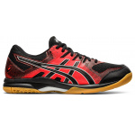 ASICS GEL-Rocket 9 Mens Indoor Court Shoe - Black/Fiery Red ASICS GEL-Rocket 9 Mens Indoor Court Shoe - Black/Fiery Red