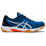 ASICS GEL-Rocket 10 Mens Indoor Court Shoe - Reborn Blue/White ASICS GEL-Rocket 10 Mens Indoor Court Shoe - Reborn Blue/White