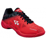YONEX SHB Power Cushion 50 Adults Badminton Shoe - RED/BLACK YONEX SHB Power Cushion 50 Adults Badminton Shoe - RED/BLACK