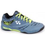 YONEX SHB Power Cushion 57 Adults Badminton Shoes - BLUE/GREY YONEX SHB Power Cushion 57 Adults Badminton Shoes - BLUE/GREY