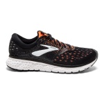 Brooks Glycerin 16 2E WIDE Men's Running Shoe - Black/Orange/Grey Brooks Glycerin 16 2E WIDE Men's Running Shoe - Black/Orange/Grey