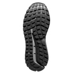 Image 3: Brooks Beast 18 2E WIDE Men's Running Shoe - Black/Grey/Silver