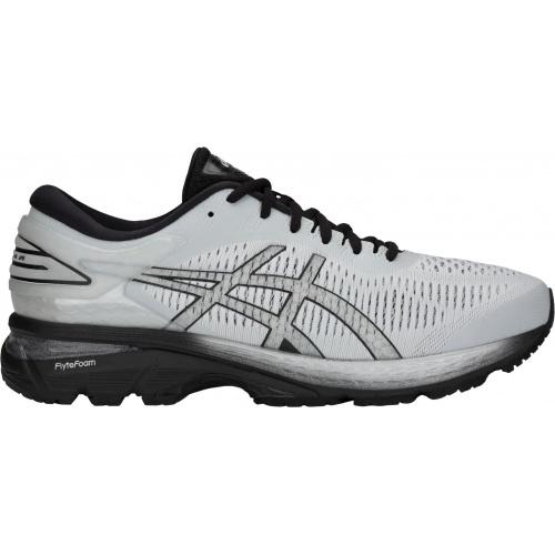 Men's Kayano Asics Glacier 2e Gel Wide Greyblack 25 Shoe Running 8mNw0n