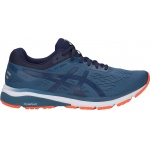 Asics GT-1000 7 2E WIDE Men's Running Shoe - Grand Shark/Peacoat Asics GT-1000 7 2E WIDE Men's Running Shoe - Grand Shark/Peacoat