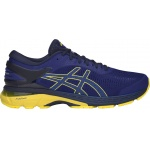Asics GEL-Kayano 25 Men's Running Shoe - ASICS Blue/Lemon Spark Asics GEL-Kayano 25 Men's Running Shoe - ASICS Blue/Lemon Spark
