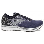 Brooks Ricochet Men's Running Shoe - Greystone/Grey/Navy Brooks Ricochet Men's Running Shoe - Greystone/Grey/Navy