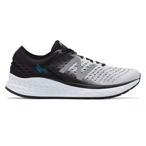 New Balance 1080v9 4E XTRA WIDE Men s Running Shoe - BLACK WHITE ... 7c914c3dd744