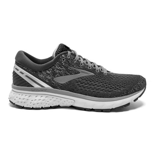 60960b5522e Brooks Ghost 11 Men s Running Shoe - Silver Ebony Grey