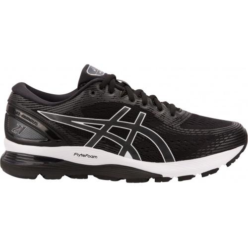 ASICS GEL-Nimbus 21 4E WIDE Men s Running Shoe - BLACK DARK GREY ... f3cbc986104d