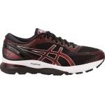 ASICS GEL-Nimbus 21 Men's Running Shoe - Black/Classic Red ASICS GEL-Nimbus 21 Men's Running Shoe - Black/Classic Red