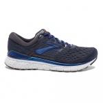 Brooks Transcend 6 D Men's Running Shoe - EBONY/BLUE/MANDARIN Brooks Transcend 6 D Men's Running Shoe - EBONY/BLUE/MANDARIN