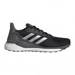Adidas SOLAR GLIDE ST 19 Men's Running Shoe - Core Black/Silver Met./Grey Five Adidas SOLAR GLIDE ST 19 Men's Running Shoe - Core Black/Silver Met./Grey Five