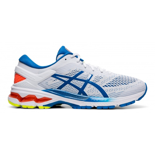 ASICS GEL-KAYANO 26 Men's Running Shoe - WHITE/LAKE DRIVE
