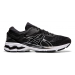 ASICS GEL-KAYANO 26 Men's Running Shoe - BLACK/WHITE ASICS GEL-KAYANO 26 Men's Running Shoe - BLACK/WHITE