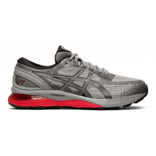 purchase cheap 35325 7e248 ASICS GEL-Nimbus 21 Men's Running Shoe - Sheet Rock/Black