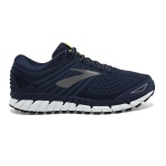 Brooks Beast 18 2E WIDE Men's Running Shoe - NAVY/PRIMER GREY/LIME Brooks Beast 18 2E WIDE Men's Running Shoe - NAVY/PRIMER GREY/LIME