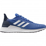 Adidas SOLAR GLIDE 19 Men's Running Shoe - Blue/FTWR White/Collegiate Navy Adidas SOLAR GLIDE 19 Men's Running Shoe - Blue/FTWR White/Collegiate Navy
