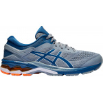 ASICS GEL-KAYANO 26 Men's Running Shoe - SHEET ROCK/MAKO BLUE ASICS GEL-KAYANO 26 Men's Running Shoe - SHEET ROCK/MAKO BLUE