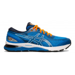 ASICS GEL-Nimbus 21 Men's Running Shoe - ELCTRIC BLUE/MIDNIGHT ASICS GEL-Nimbus 21 Men's Running Shoe - ELCTRIC BLUE/MIDNIGHT
