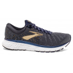 Brooks Glycerin 17 D Men's Running Shoe - GREY/NAVY/GOLD Brooks Glycerin 17 D Men's Running Shoe - GREY/NAVY/GOLD