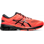 ASICS GEL-KAYANO 26 Mens Running Shoe - FLASH CORAL/BLACK ASICS GEL-KAYANO 26 Mens Running Shoe - FLASH CORAL/BLACK