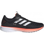 Adidas SL20 Mens Running Shoe - Core Black/FTWR White/Signal Coral Adidas SL20 Mens Running Shoe - Core Black/FTWR White/Signal Coral