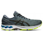 ASICS GEL-Kayano 27 Mens Running Shoe - Metropolis/Gunmetal ASICS GEL-Kayano 27 Mens Running Shoe - Metropolis/Gunmetal
