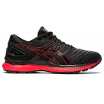 ASICS GEL-Nimbus 22 Men's Running Shoe - BLACK/CLASSIC RED ASICS GEL-Nimbus 22 Men's Running Shoe - BLACK/CLASSIC RED
