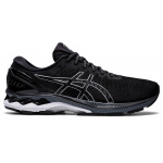 ASICS GEL-Kayano 27 2E WIDE Men's Running Shoe - BLACK/PURE SILVER ASICS GEL-Kayano 27 2E WIDE Men's Running Shoe - BLACK/PURE SILVER