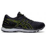 ASICS GEL-Nimbus 22 Mens Running Shoe - Carrier Grey/Lime Zest ASICS GEL-Nimbus 22 Mens Running Shoe - Carrier Grey/Lime Zest