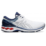 ASICS GEL-Kayano 27 Mens Running Shoe - WHITE/PEACOAT ASICS GEL-Kayano 27 Mens Running Shoe - WHITE/PEACOAT