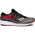 Saucony Ride ISO Mens Running Shoe - Grey/Black Saucony Ride ISO Mens Running Shoe - Grey/Black