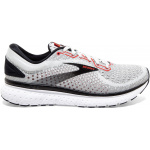 Brooks Glycerin 18 D Mens Running Shoe - Grey/Black/Red Brooks Glycerin 18 D Mens Running Shoe - Grey/Black/Red