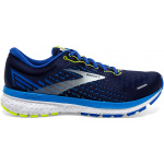 Brooks Ghost 13 D Mens Running Shoe - Peacoat/Indigo/Nightlife Brooks Ghost 13 D Mens Running Shoe - Peacoat/Indigo/Nightlife