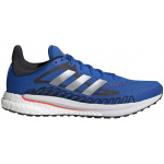 Adidas Solar Glide 3 Mens Running Shoe - Football Blue/Silver Met./Solar Red Adidas Solar Glide 3 Mens Running Shoe - Football Blue/Silver Met./Solar Red
