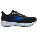 Brooks Launch 8 Mens Running Shoe - Black/Grey/Blue Brooks Launch 8 Mens Running Shoe - Black/Grey/Blue