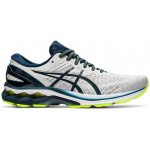 ASICS GEL-Kayano 27 Mens Running Shoe - Glacier Grey/French Blue ASICS GEL-Kayano 27 Mens Running Shoe - Glacier Grey/French Blue